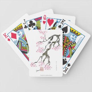 tony fernandes sakura with pink goldfish bicycle playing cards