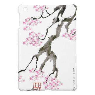tony fernandes sakura with pink goldfish iPad mini cover