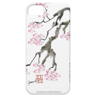 tony fernandes sakura with pink goldfish iPhone 5 cover