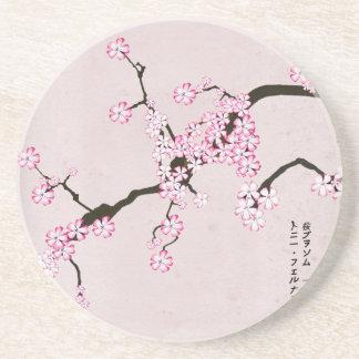 tony fernandes's antique blossom 9 coaster