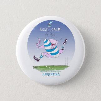 tony fernandes's argentina forward 2 inch round button