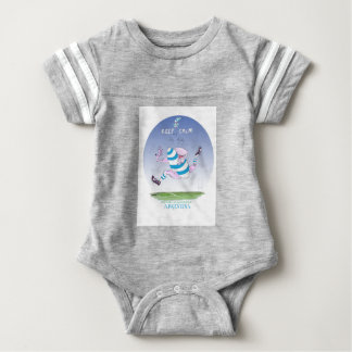 tony fernandes's argentina forward baby bodysuit