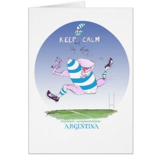 tony fernandes's argentina forward card