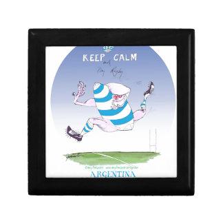tony fernandes's argentina forward gift box