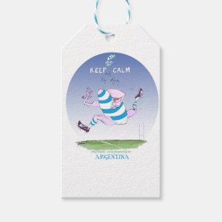 tony fernandes's argentina forward gift tags