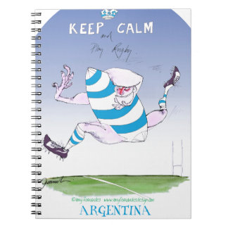 tony fernandes's argentina forward notebooks