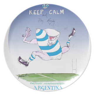 tony fernandes's argentina forward plate