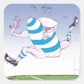 tony fernandes's argentina forward square sticker