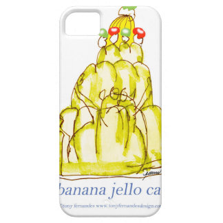 tony fernandes's banana jello cat iPhone 5 case
