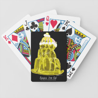 tony fernandes's banana jello rat bicycle playing cards