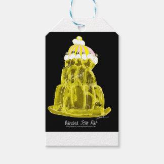tony fernandes's banana jello rat pack of gift tags