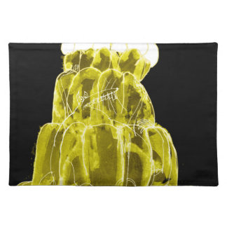 tony fernandes's banana jello rat placemat