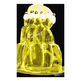 tony fernandes's banana jello rat stationery