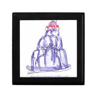 tony fernandes's blackcurrant jelly cat gift box