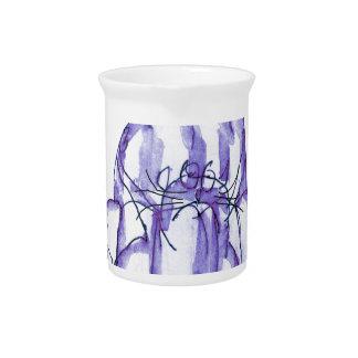 tony fernandes's blackcurrant jelly cat pitcher