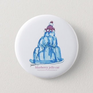 tony fernandes's blueberry jello cat 2 inch round button