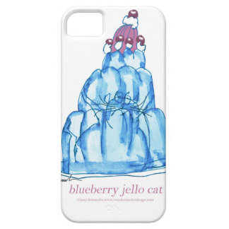 tony fernandes's blueberry jello cat case for the iPhone 5