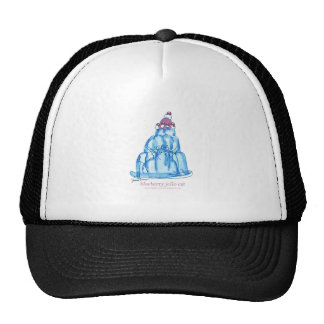 tony fernandes's blueberry jello cat trucker hat