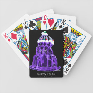 tony fernandes's blueberry jello rat bicycle playing cards