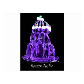 tony fernandes's blueberry jello rat postcard