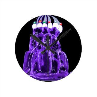tony fernandes's blueberry jello rat round clock