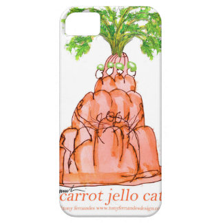 tony fernandes's carrot jello cat case for the iPhone 5