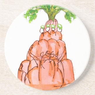 tony fernandes's carrot jello cat coaster