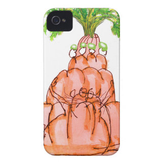 tony fernandes's carrot jello cat iPhone 4 case