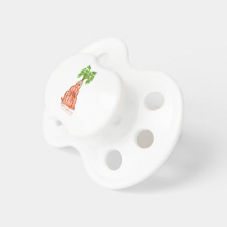 tony fernandes's carrot jello cat pacifier