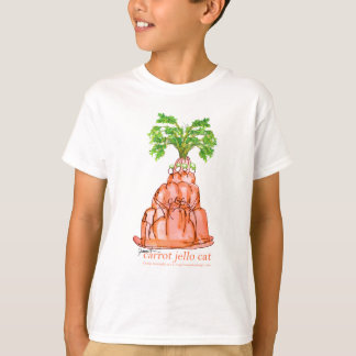 tony fernandes's carrot jello cat T-Shirt