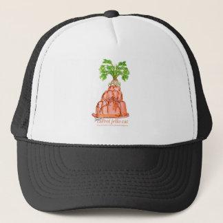 tony fernandes's carrot jello cat trucker hat