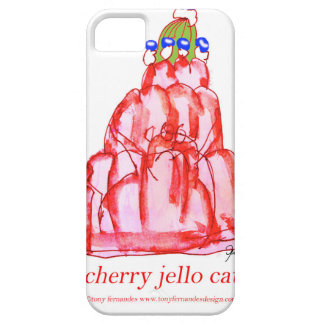 tony fernandes's cherry jello case for the iPhone 5