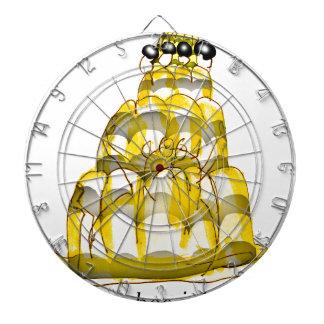 tony fernandes's honey bee jello dartboard