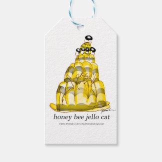 tony fernandes's honey bee jello gift tags