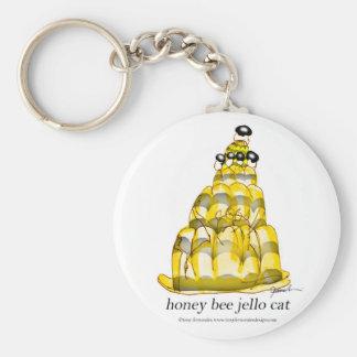 tony fernandes's honey bee jello keychain