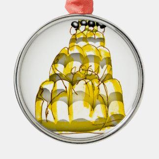 tony fernandes's honey bee jello metal ornament