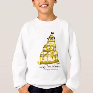 tony fernandes's honey bee jello sweatshirt