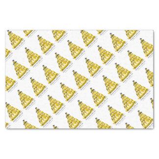 tony fernandes's honey bee jello tissue paper