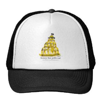 tony fernandes's honey bee jello trucker hat
