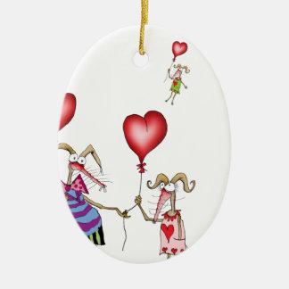 tony fernandes's..it's not me, it's you... ceramic ornament