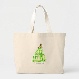 tony fernandes's kiwi jello large tote bag