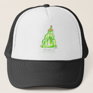 tony fernandes's kiwi jello trucker hat