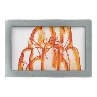 tony fernandes's kumquat jello cat rectangular belt buckles
