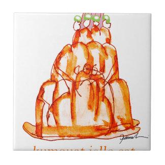 tony fernandes's kumquat jello cat tile