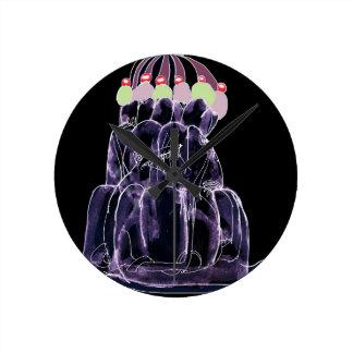 tony fernandes's licorice jello rat round clock