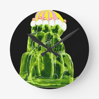 tony fernandes's lime jello rat round clock