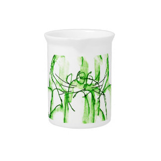 tony fernandes's lime jelly cat pitcher