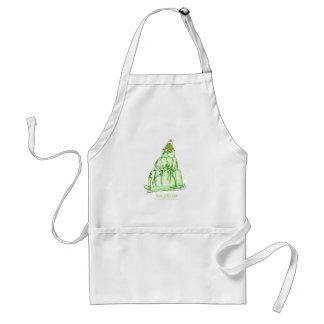 tony fernandes's lime jelly cat standard apron