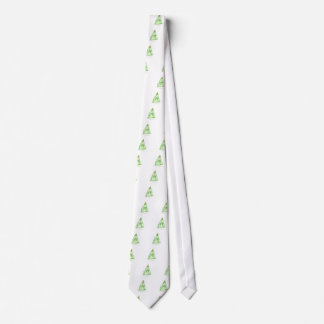 tony fernandes's lime jelly cat tie