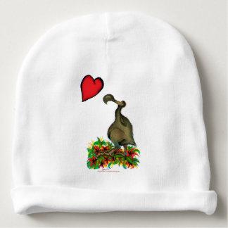 tony fernandes's love dodo baby beanie
